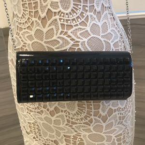 Handbags - Black crossbody/clutch